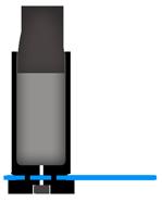 Část náboje použitá na bižuterii